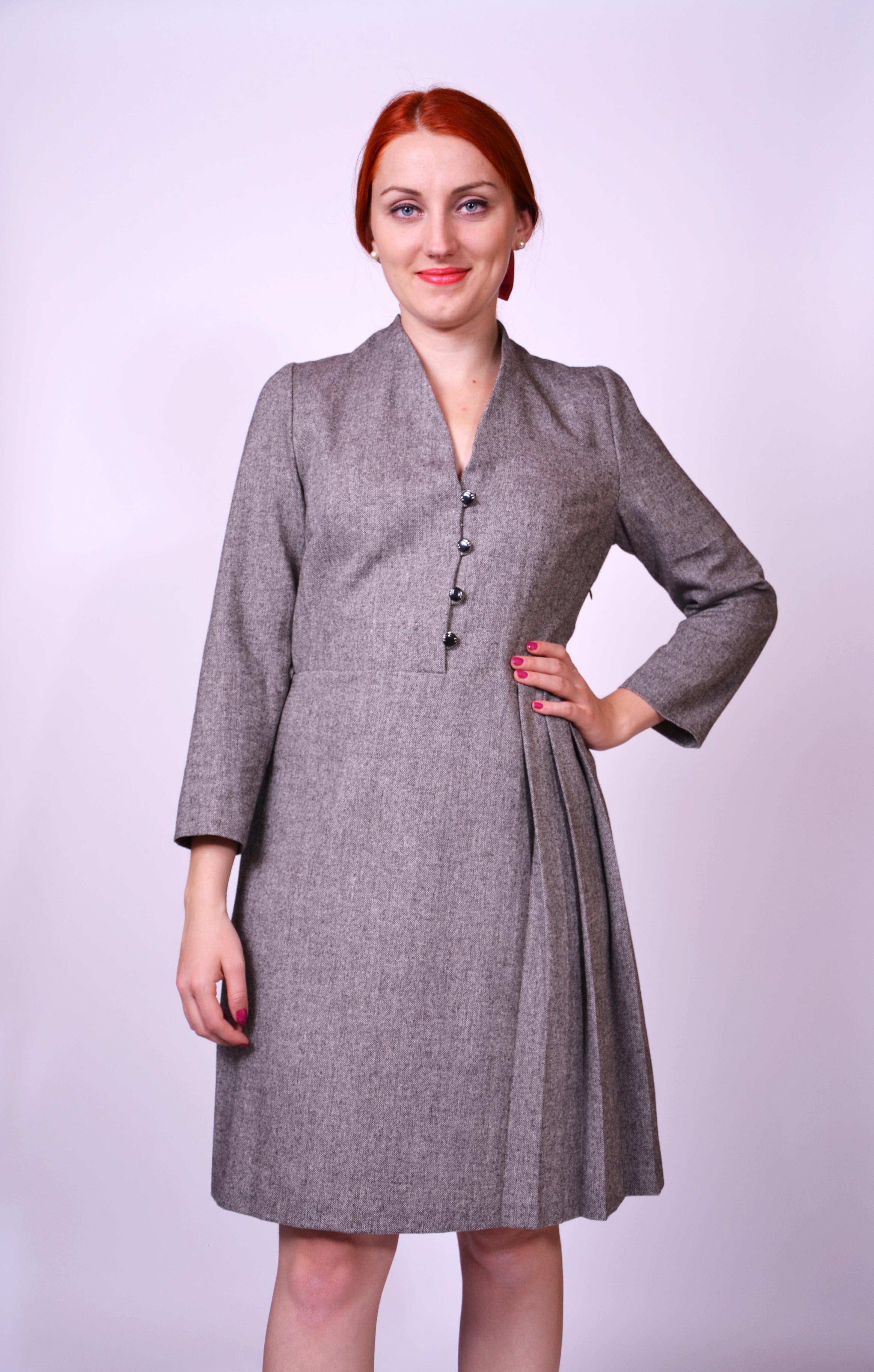 f4991585bf02 Tvídové šaty - SEVERANKA
